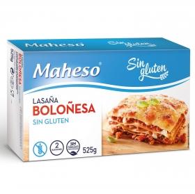Lasaña boloñesa Maheso sin gluten  525 g.