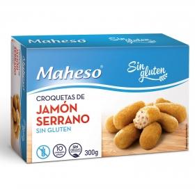 Croqueta de jamón Maheso sin gluten 300 g.