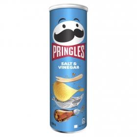 Aperitivo de patata con sal y vinagre Pringles 200 g.