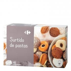 Surtido de pastas Carrefour 500 g.