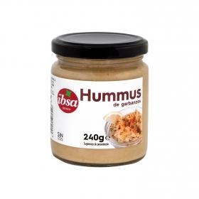 Hummus tarrito de cristal sin gluten Ibsa 240 g.