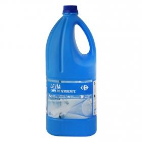 Lejía perfumada con detergente Frescor Marino Carrefour 2 l.