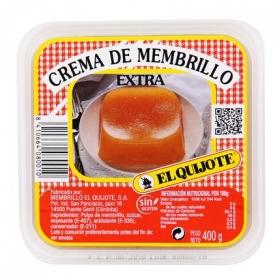 Crema de membrillo El Quijote sin gluten 400 g.