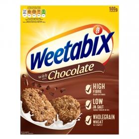 Cereales con chocolate Weetabix 500 g.