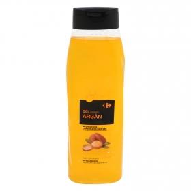 Gel de ducha argán Carrefour 750 ml.