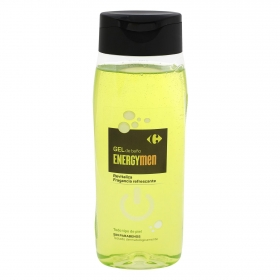 Gel de ducha Energy Men Carrefour 500 ml.
