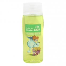 Gel de ducha Pompas Kids Carrefour 500 ml.