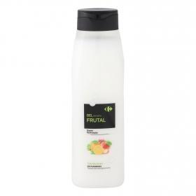 Gel de ducha frutal Carrefour 750 ml.