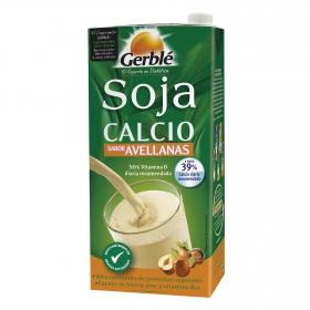 Bebida de soja sabor avellana con calcio Gerblé 1 l.