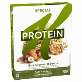 Cereales con frutos secos Proteín Special K Kellogg's 320 g.