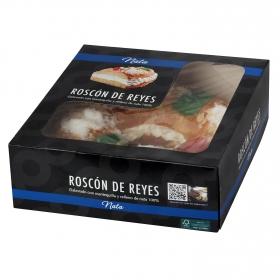 Roscón de reyes grande con nata Carrefour 1,3 Kg