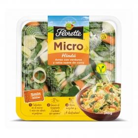 Arroz con verduras y salsa suave de curry Florette 345 g