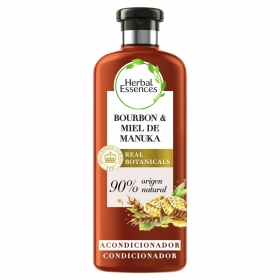 Acondicionador repara bourbon & miel de manuka Herbal Essence 400 ml.