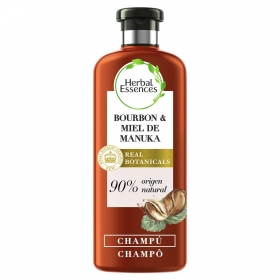 Champú repara bourbon & miel de manuka Herbal Essence 400 ml.