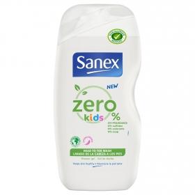 Gel de ducha niños para cuerpo y cabello Zero 0% Sanex 500 ml.