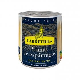 Yemas de espárragos blancos extra gruesas Carretilla 205 g.