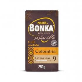 Café molido natural Puro Colombia Nestlé Bonka 250 g.