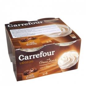 Copa de café Carrefour pack de 4 unidades de 100 g.