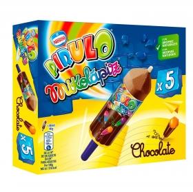 Helado de chocolate Mikolápiz Pirulo Nestlé 5 ud.