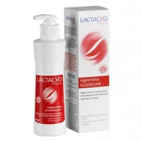 Gel higiene íntima Alcalino ph8 Lactacyd 250 ml.