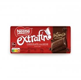 Chocolate con leche intenso extrafino Nestlé sin gluten 125 g.
