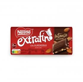 Chocolate con almendras intenso extrafino Nestlé sin gluten 123 g.