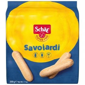 Bizcochos Savoiardi Schär sin gluten y sin lactosa 200 g.