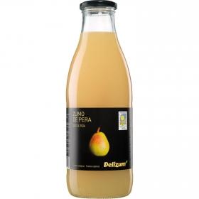 Zumo de pera ecológico Delizum botella 1 l.