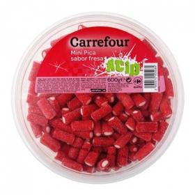 Regaliz de goma pica pica Carrefour 600 g.
