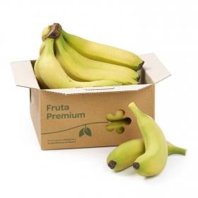 Plátano de Canarias premium a granel 1 Kg aprox
