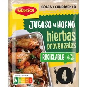 Sazonador para pollo de hierbas provenzales Jugoso al Horno Maggi 34 g.
