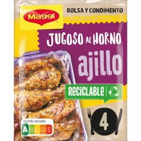 Sazonador para pollo de ajo Jugoso al Horno Maggi 36 g.