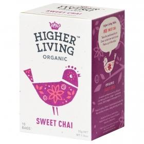 Té Chai dulce en bolsitas ecológico Higher Living 15 ud.