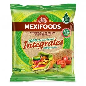 Tortillas de trigo integrales Mexifoods 8 ud.