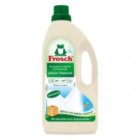 Detergente líquido concentrado ecológico Frosch 22 lavados.