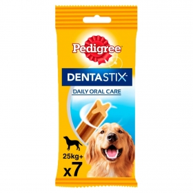Pedigree Pack de 7 Dentastix de Uso Diario para La Limpieza Dental de Perros Grandes