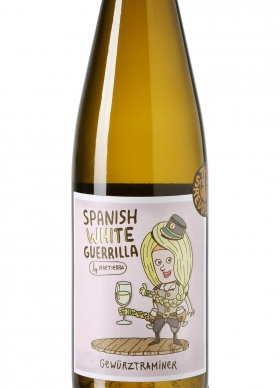 Spanish White Guerrilla Gewürztraminer Blanco 2017