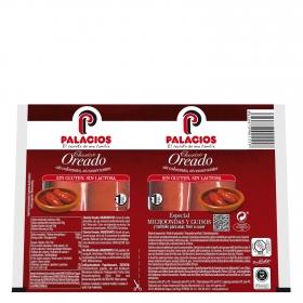 Chorizo fresco oreado Palacios 200 g.