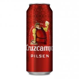 Cerveza Cruzcampo Pilsen lata 50 cl.