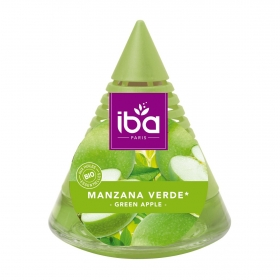 Ambientador pirámide manzana verde ecológico Iba 1 ud.