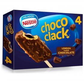 Bombón helado Choco Clack Nestlé Helados sin gluten 4 ud.