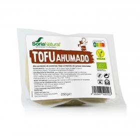 Tofu Ahumado ecológico Soria Natural sin gluten 250 g.