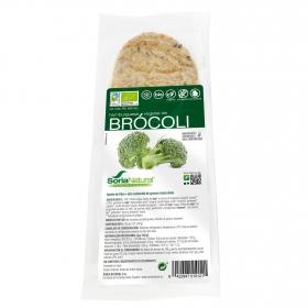 Hamburguesa vegetal de brócoli ecológica Soria Natural sin gluten y sin lactosa160 g.