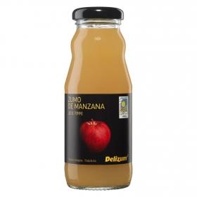 Zumo de manzana ecológico Delizum botella 20 cl.