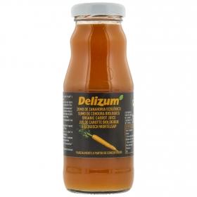 Zumo de zanahoria ecológico Delizum botella 20 cl.