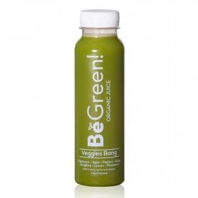 Smoothie de frutas y verduras ecológico Be Green botella 30 cl.