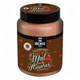 Helado de chocolate Mal de Amores La Ibense 1892 sin gluten 1000 ml.
