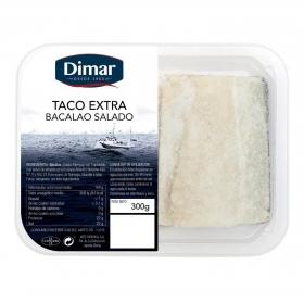 Bacalao salado extra taco, Arte Morhua 300 g