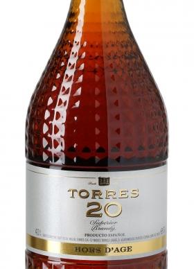 Torres 20 Brandy 20 Años