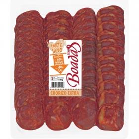 Chorizo extra reducido en sal loncheado Boadas sobre 100 g